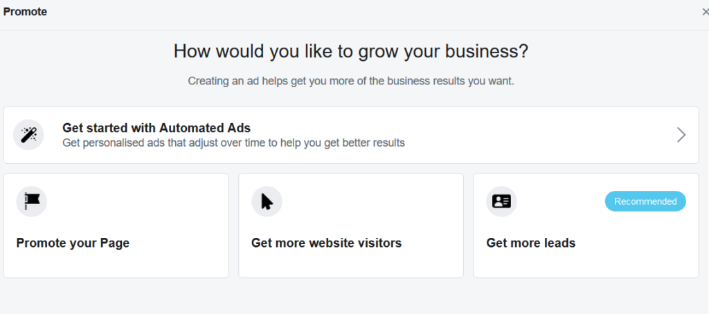 get started with facebook ads for restaurants