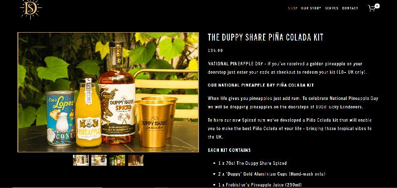 pub bar cocktail kit