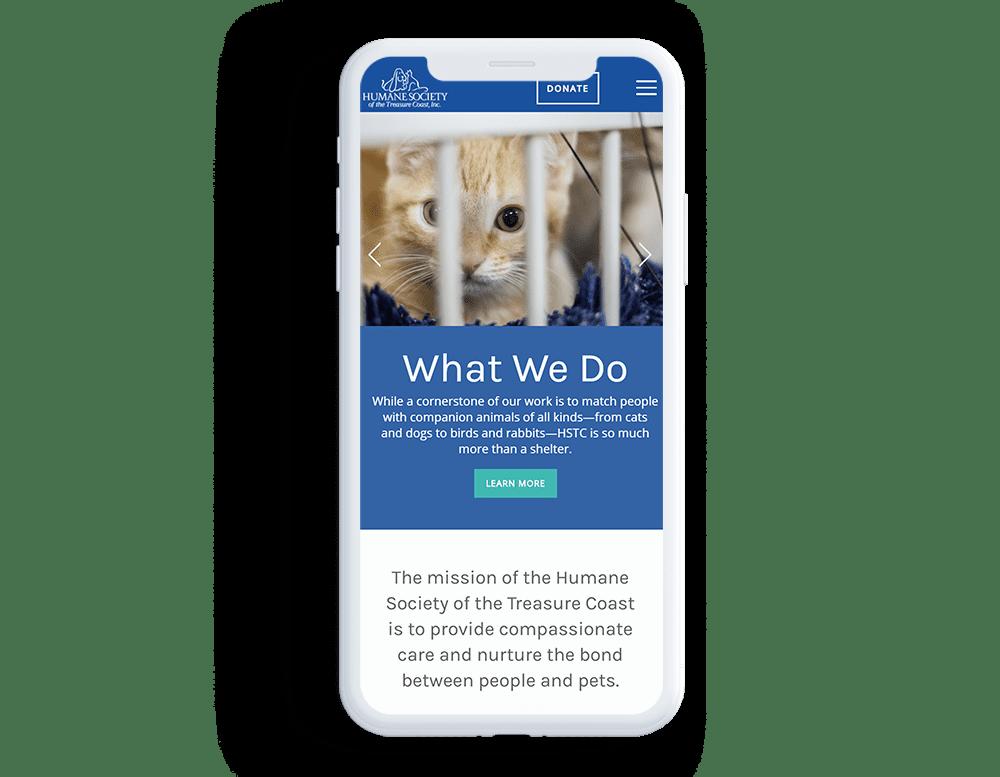 Mobile Responsive Nonprofit CMS