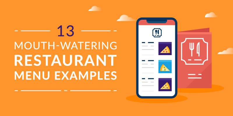 13 Mouth-Watering Restaurant Menu Examples