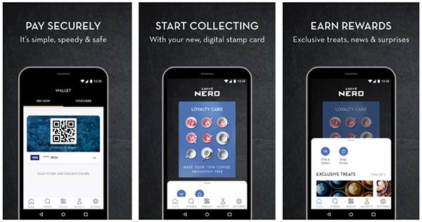 caffe nero digital loyalty card app