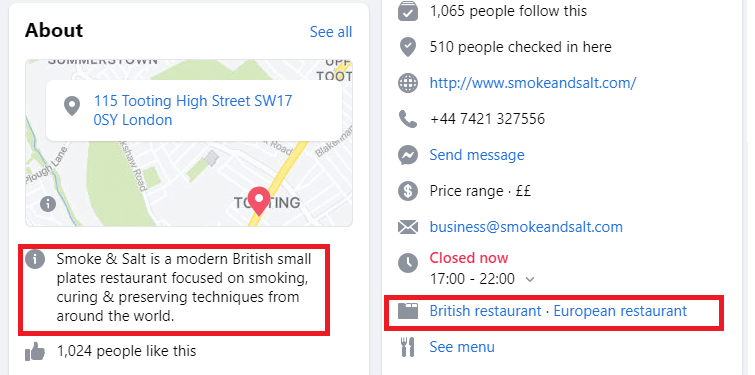 smoke and salt about us facebook