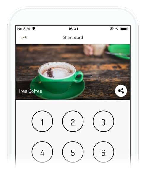 appinstitute coffee loyalty scheme