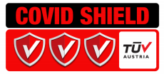 TÜV Austria Certification COVID SHIELD