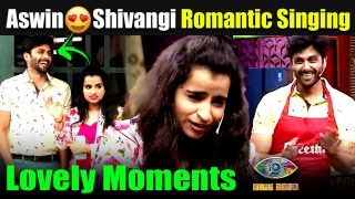 Shivangi romantic singing with Ashwin || Cook with Comali || Super Singer grand launch || Vijay TV