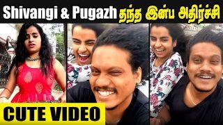 Sivangi & Pugazh's Pongal Celebration latest video    Cook with Comali 2
