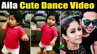 Alya & Sanjeev daughter Aila Cute Dance & Singing Video Latest || Raja Rani 2 || Alya Manasa
