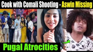 Ashwin missing at Cooking with comali shooting spot || Pavithra live video || pugal Atrocities