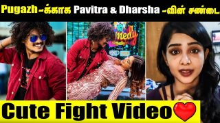 Pavithra & Dharsha Cute Fight for Pugazh || Cook with Comali || Vijay TV