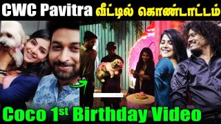 Cook With Comali Pavitra celebrates with her COCO Birthday || CWC Pavithra Latest