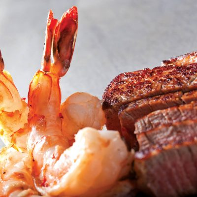 Filet and Colossal Shrimp