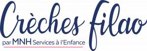 logo : Crèches Filao par MNH Services à l'enfance