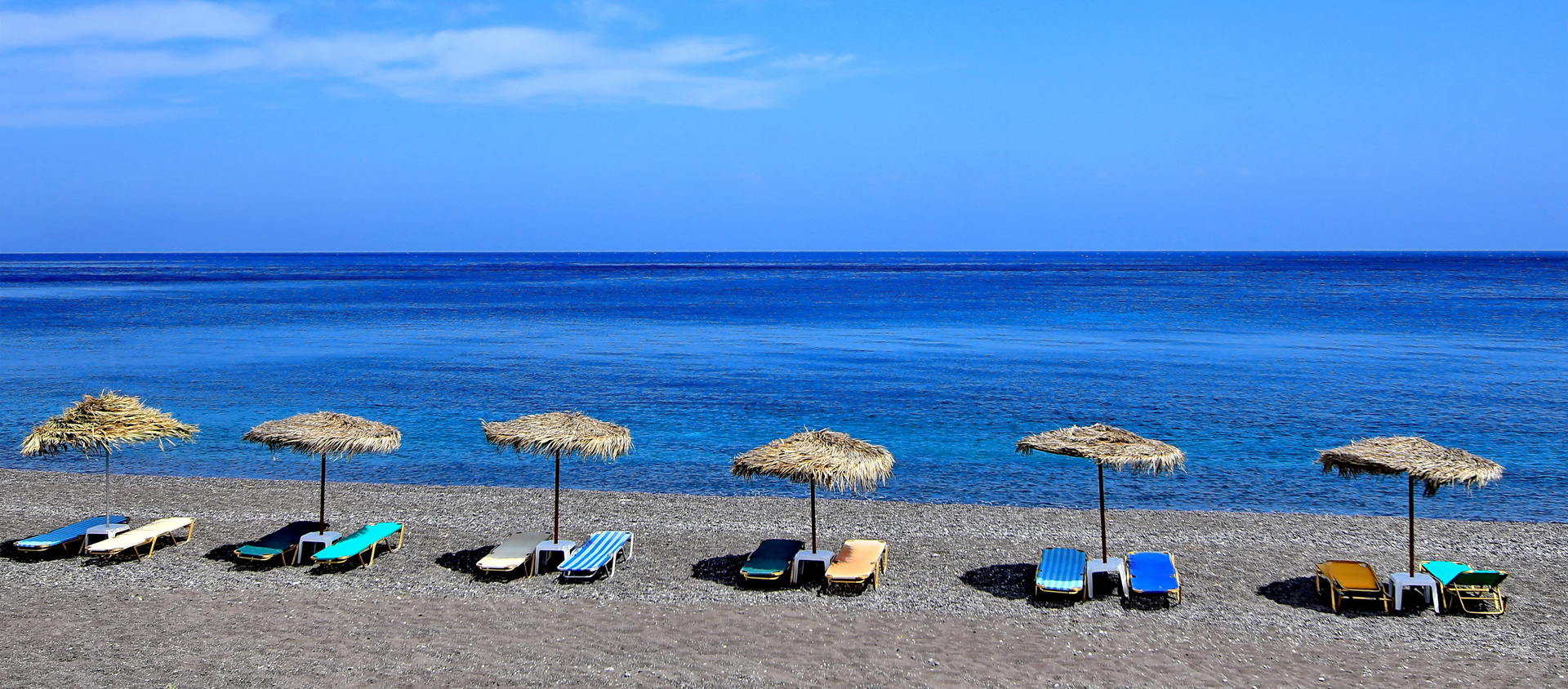 Santorini Car Rental Beach