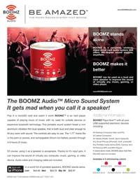 Boomz Micro Sound System