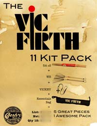 Vic Firth 11 Kit Pack