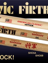 Vic Firth eStick and Shogun
