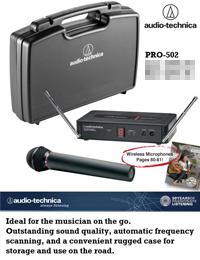 Audio-Technica PRO-502