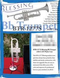 Blessing BTR-1277S w Case