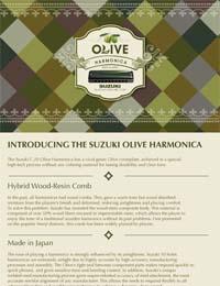 Suzuki Olive Harmonica