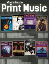 New Print Music Jan 21 2013