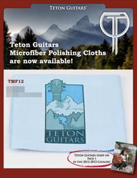 Teton Guitars Polishing Cloths