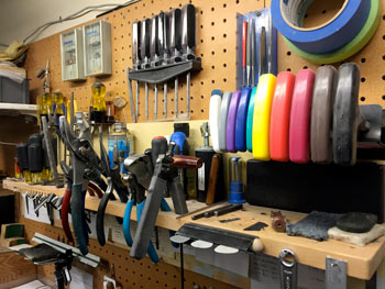 Chesbro Music's Repair Shop - Tools