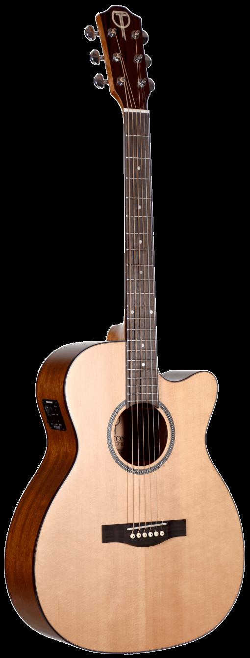 STG100CENT Grand Concert Teton Guitar