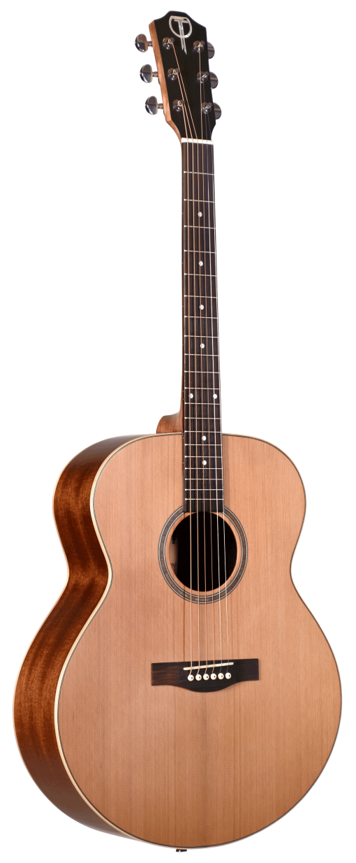 STJ105NT Jumbo Acoustic Teton Guitar