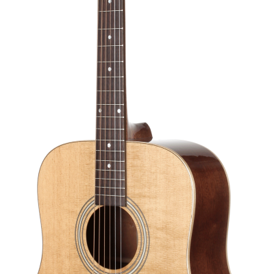 STS100NT Acoustic Dreadnought Teton Guitar