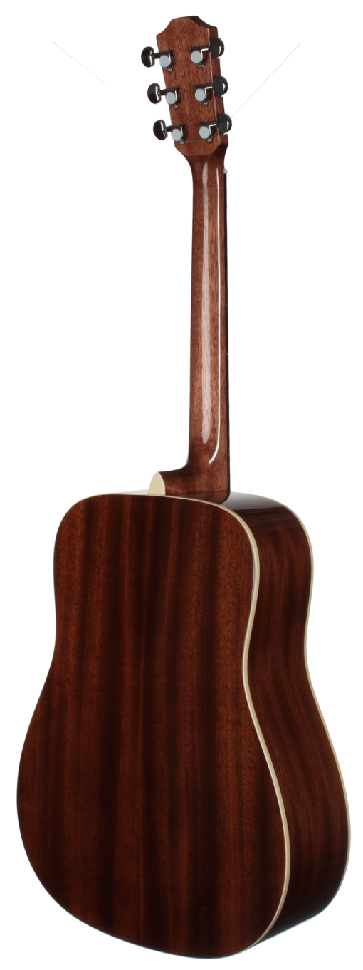 STS100TRS Dreadnought Teton Guitars - Back and Sides