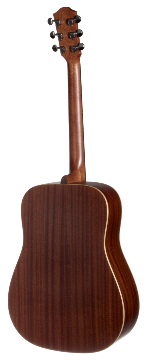 STS105NT Teton Dreadnought Acoustic Guitar - Back and Sides