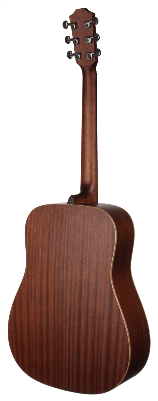 STS105NT-L Left-hand Teton Acoustic Dreadnought Guitar - Back and Sides