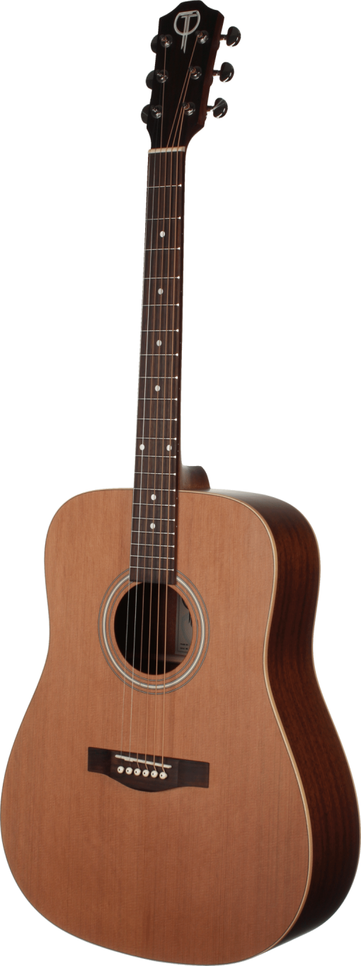STS105NT-L Left-hand Teton Acoustic Dreadnought Guitar