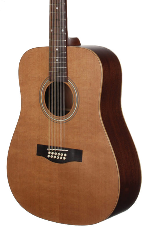 STS105NT_12 Cedar and Mahogany 12-String Teton Guitar