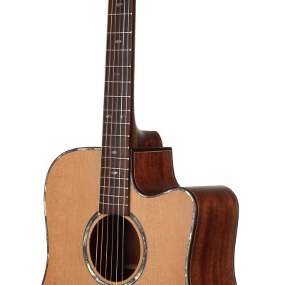 STS205CENT Teton Dreadnought Acoustic Guitar