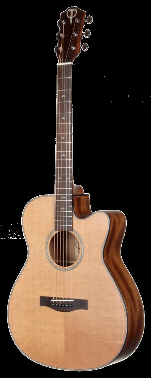 STG205CENT All Solid Grand Concert Teton Guitar