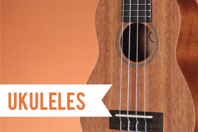 Teton Guitars - Ukuleles