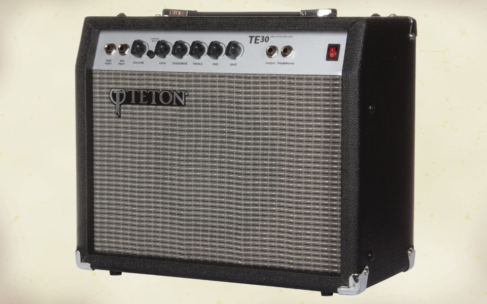 te30 30 watt electric guitar amplifier teton guitars. Black Bedroom Furniture Sets. Home Design Ideas