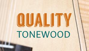 How to determine tone woods in Teton Guitars' model numbers