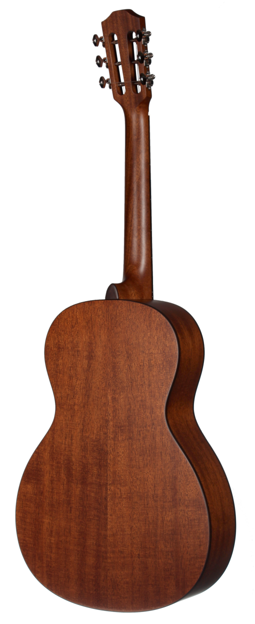 STP103NT Parlor Teton Guitar - Back and Sides