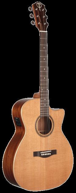STA105CENT Grand Auditorium Teton Guitar