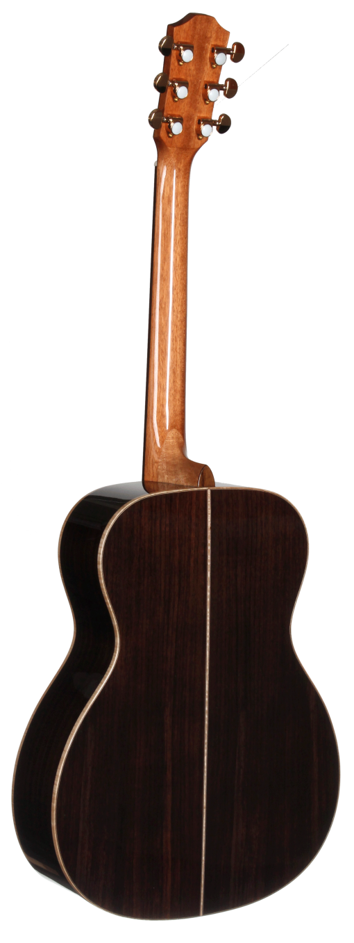 STG150NT-AR Arm Rest Dreadnought Teton Guitar - Back and Sides