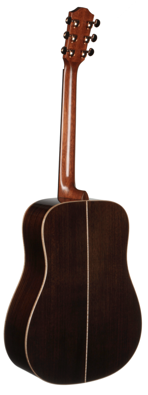 STS150NT-AR Teton Dreadnought Acoustic Guitar with Arm Rest - Back and Sides