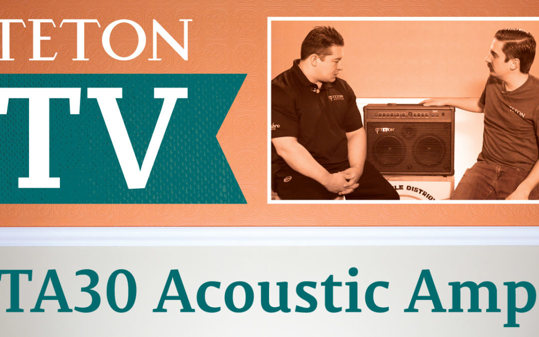 TA30 Teton Acoustic Amplifier Demo