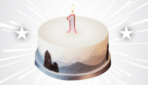 It's our Blogiversary!