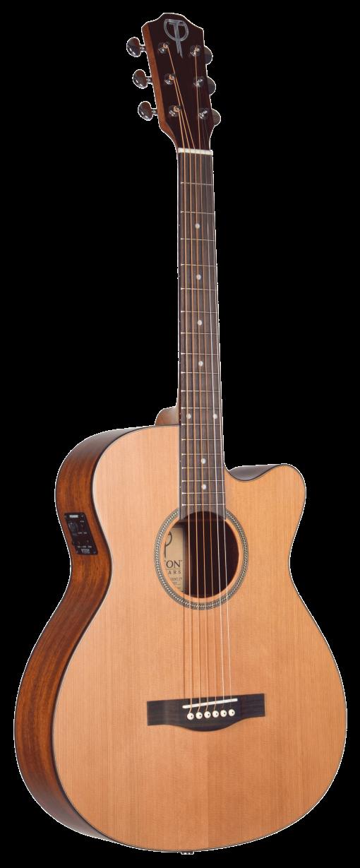 STG105CENT-TF Teton Grand Concert Guitar