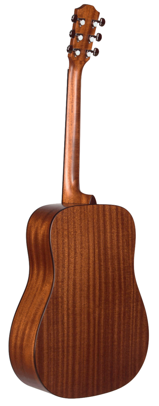 STS105NT-AR Teton Acoustic Guitar Back and Sides