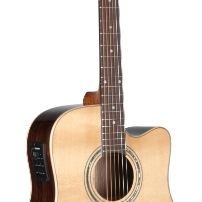 STS180CENT Teton Dreadnought Cutaway Acoustic Guitar