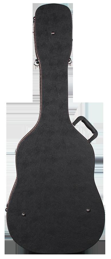 TAF-1 Teton Hardshell Dreadnought Archtop Guitar Case Back View