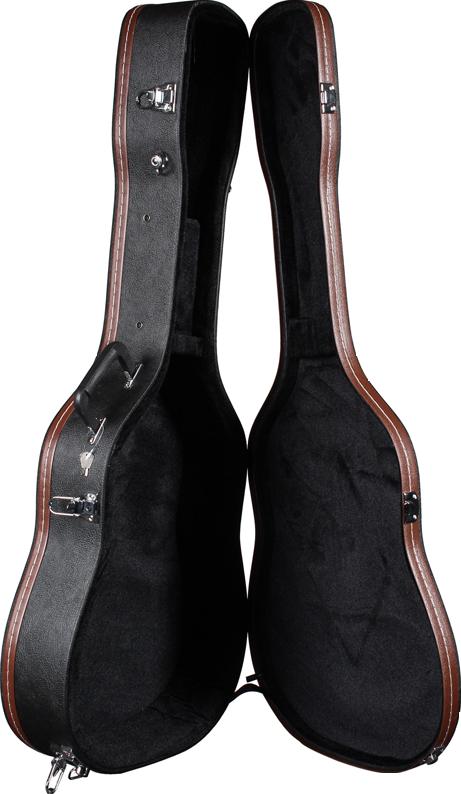 TAF-1 Teton Hardshell Dreadnought Guitar Case Open
